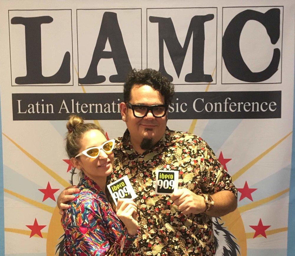 Mirella Cesa & Mr. Paurer, participaron en el LAMC de este año. Foto: Junf