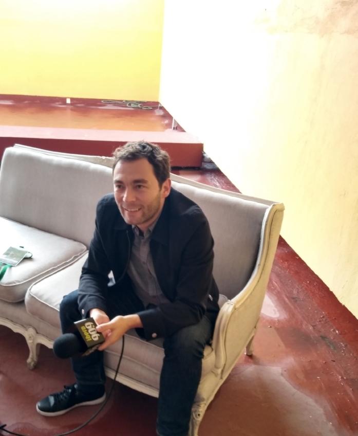 Felipe Restrepo Pombo  en entrevista con  Ibero 90.9