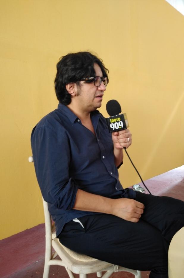Alejandro Zambra, escritor chileno.