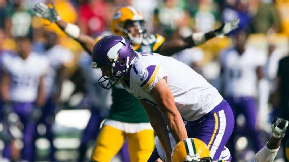 Daniel Carlson. Foto vía ESPN