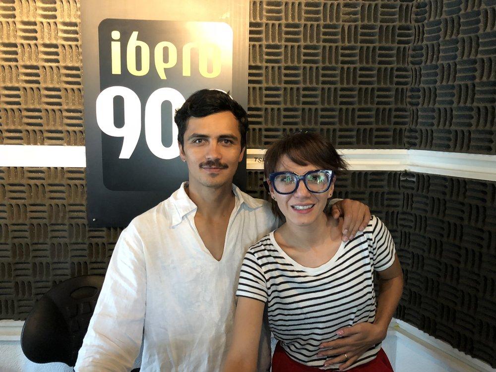 Gina Jaramillo y Oliver Victroai