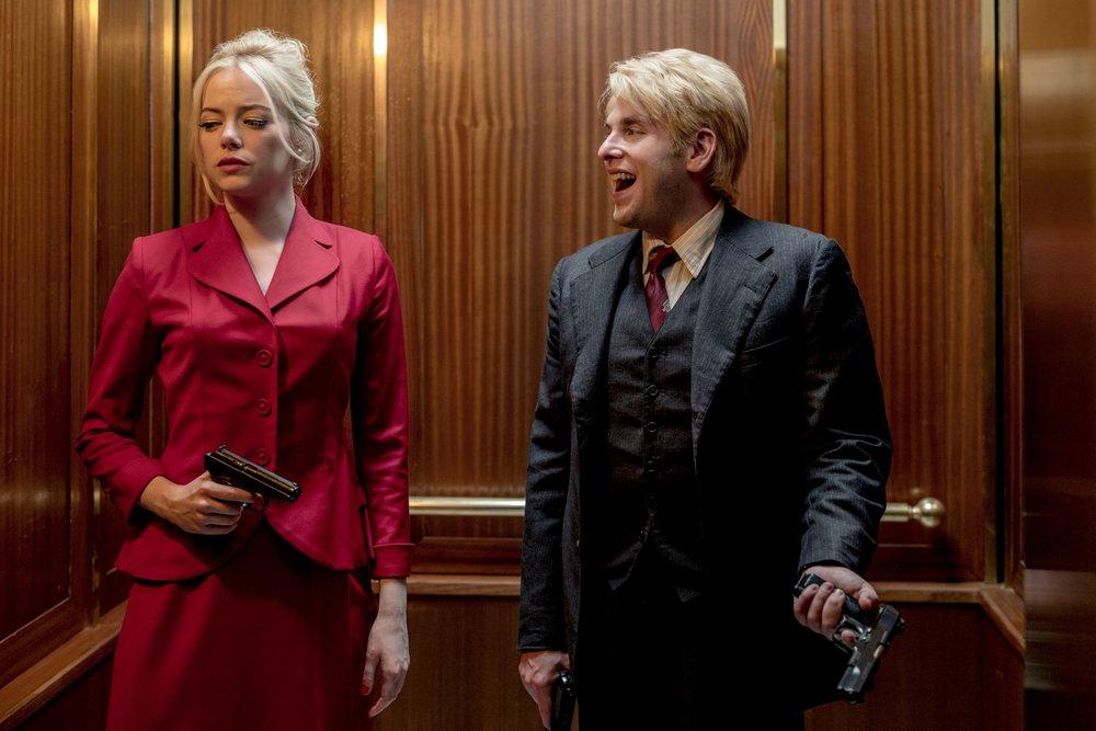 Emma Stone y Jonah Hill en  Maniac
