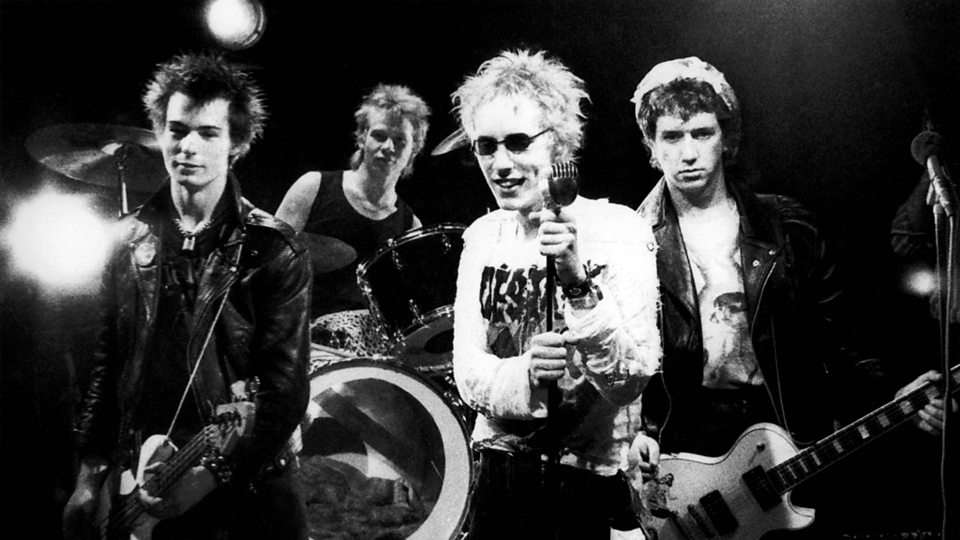 Sex Pistols. Foto vía BBC