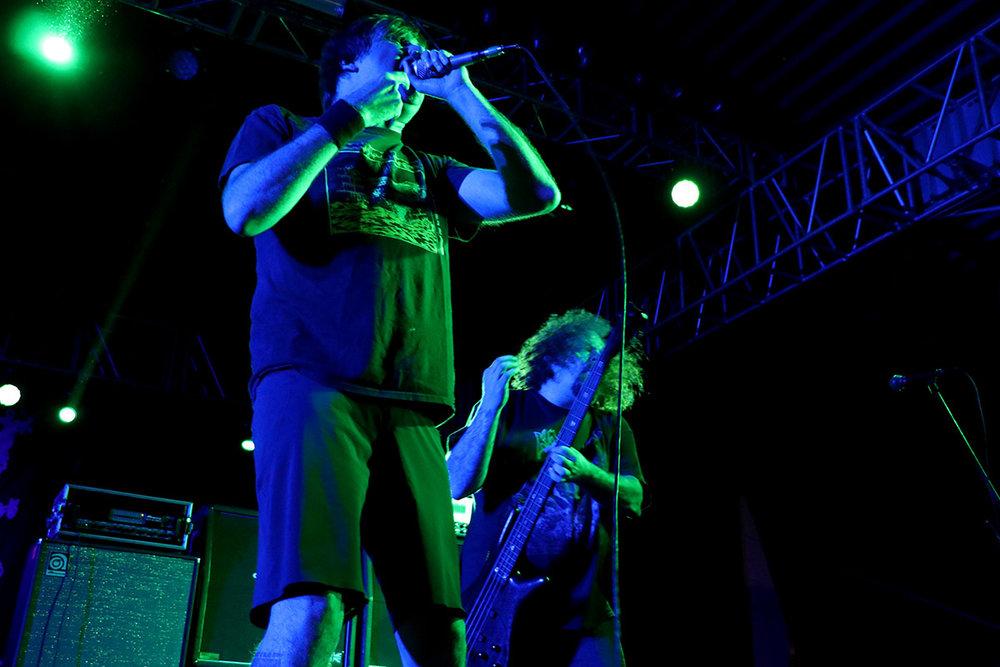 Barney Greenway y Shane Embury - Napalm Death