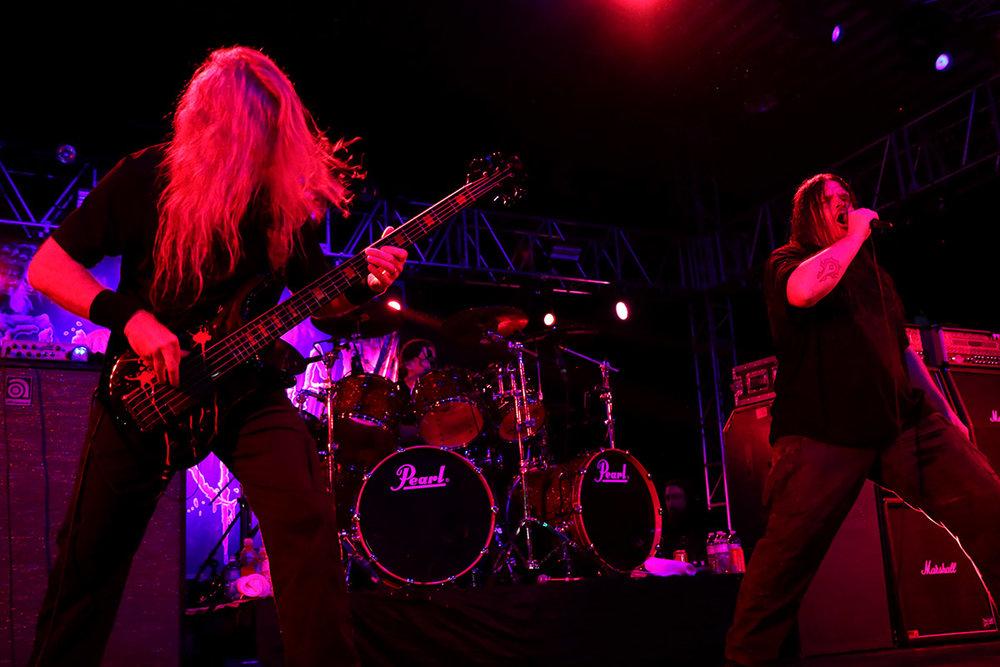 Alex Webster, Paul Mazurkiewicz y Corpsegrinder - Cannibal Corpse