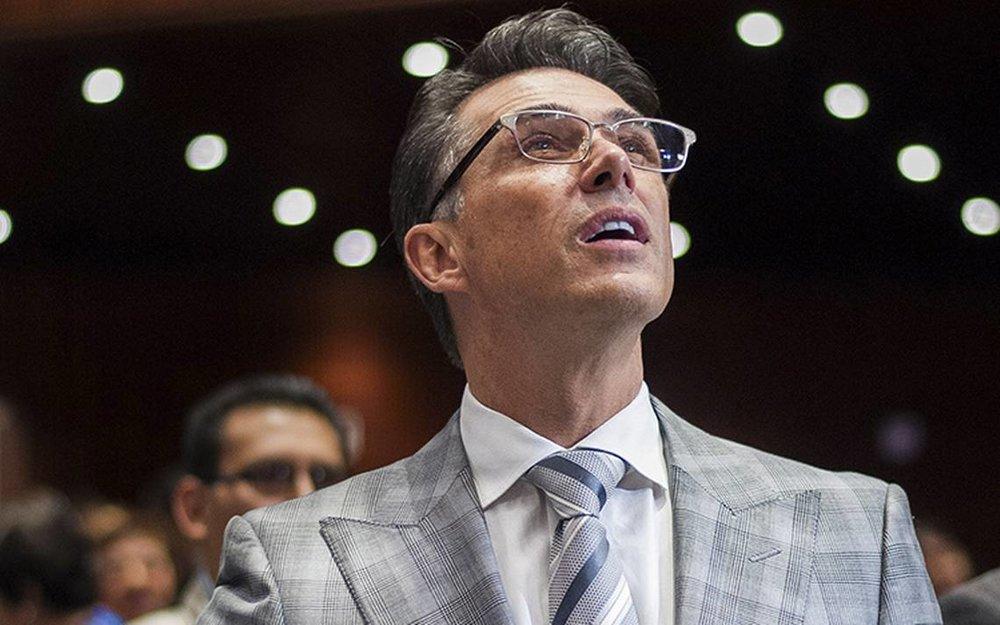 Sergio Mayer es diputado federal por Morena. Vía El Sol de México.