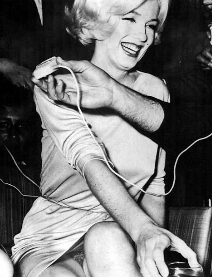 Marilyn Monroe.  Foto: Antonio Caballero