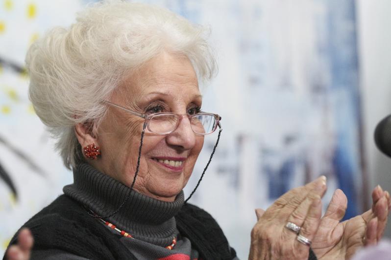 Estela de Carlotto en Conferencia José Maulín Pratto 2016