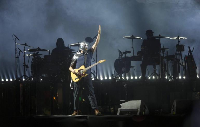 Gorillaz en el Vive Latino 18. Foto vía Associated Press
