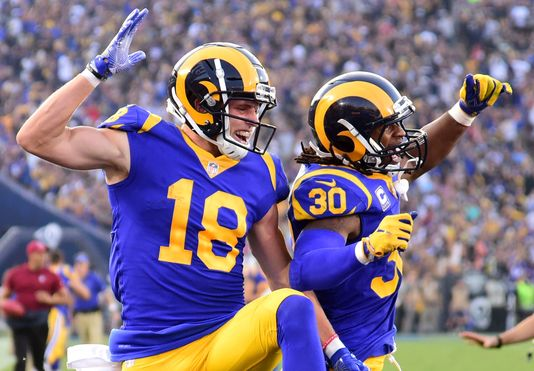 LA Rams. Foto vía USA Today