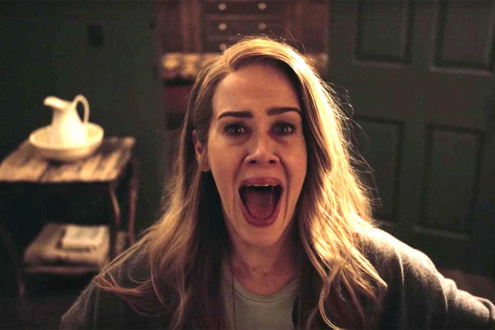 Sarah Paulson como Shelby en  American Horror Story: Roanoke