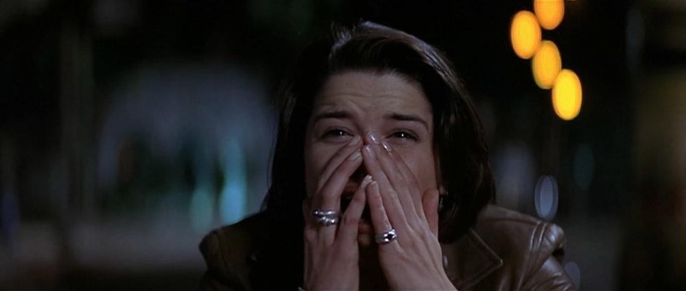 Neve Campbell como Sidney Prescott en  Scream