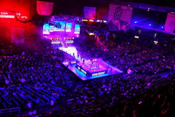 Arena México Foto: CMLL