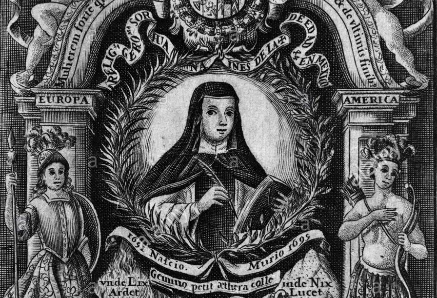 sor-juana-ines-de-la-cruz-1651-1695-rhythmica-sacra-moral-y-laudatoria-f-alvarez-velasco-1700-author-caldevilla-joseph-location-biblioteca-nacional-coleccion-madrid-spain-P4FNKH.jpg