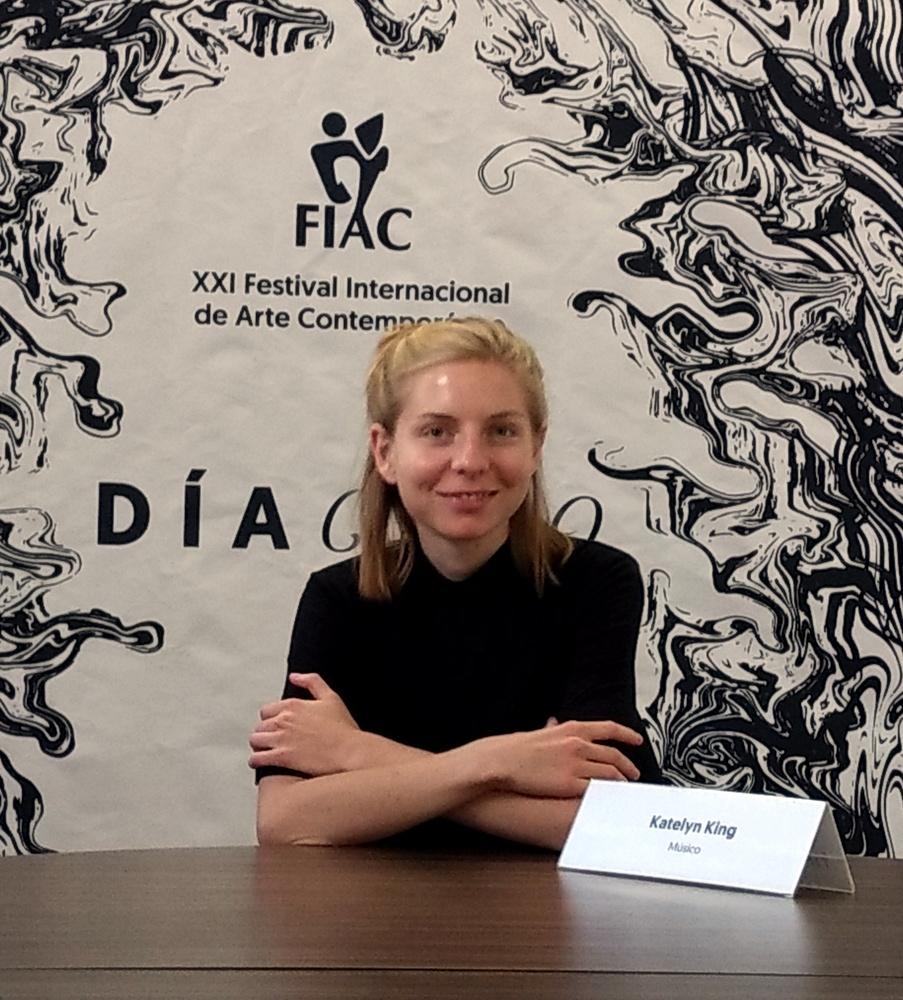 Katelyn King en el FIAC 2018 Foto: Edgar Martínez