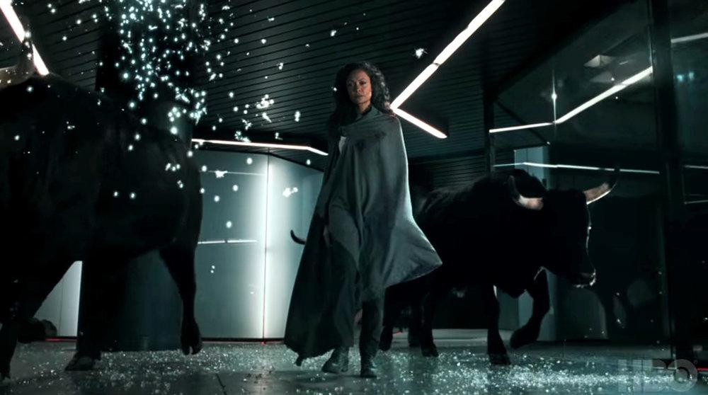 Thandie Newton en  Westworld  (HBO)