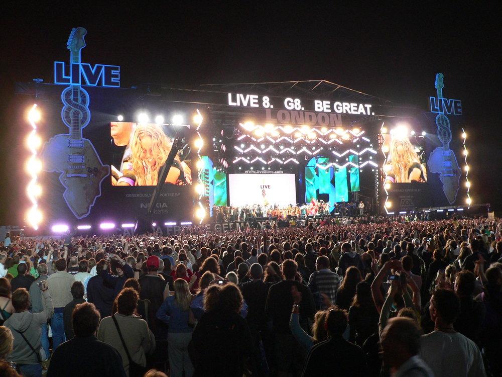 Live 8, 2005