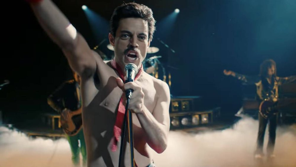 Rami Malek en  Bohemian Rhapsody
