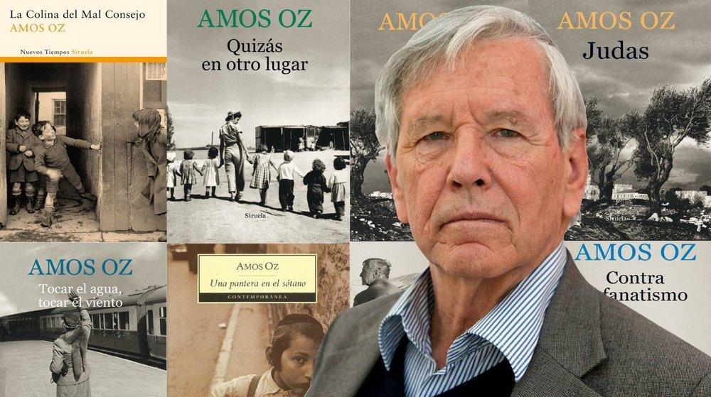 El prolífico autor también fue uno de los fundadores del movimiento pacifista israelí Paz Ahora o Shalom Ajshav. Imagen vía laverdadnoticias.com