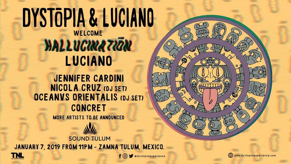 La francesa Jennifer Cardini, presente en BLACK el pasado 31 de diciembre, se presentará en Tulúm, junto con Nicola Cruz y otros Dj's.