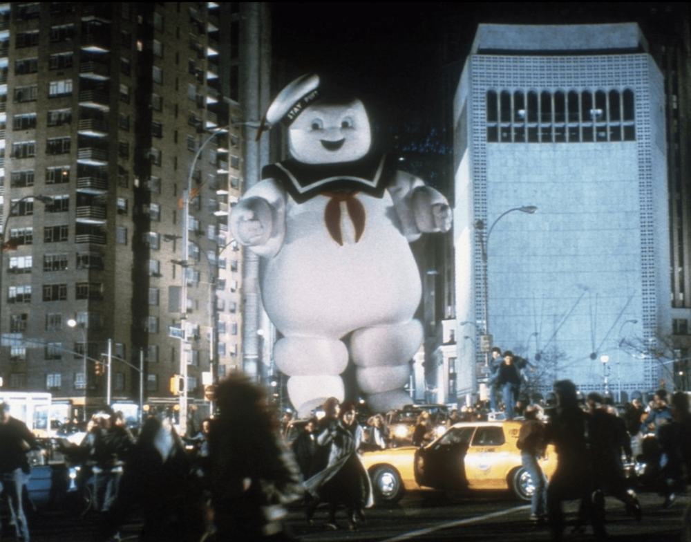 ghostbusters marshmallow 2020