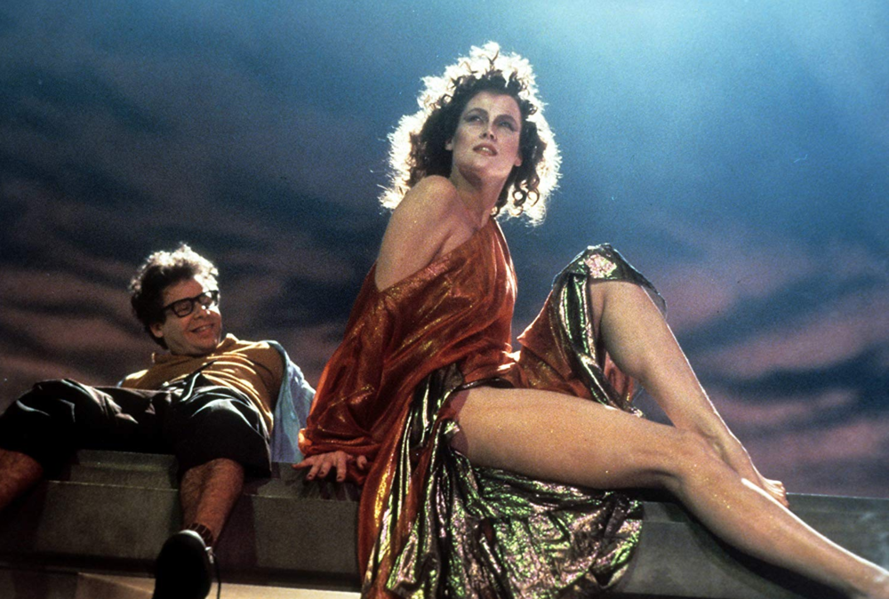 Sigourney Weaver.  Ghostbusters , 1984