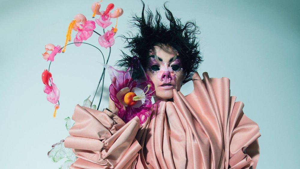 Björk via W Magazine.