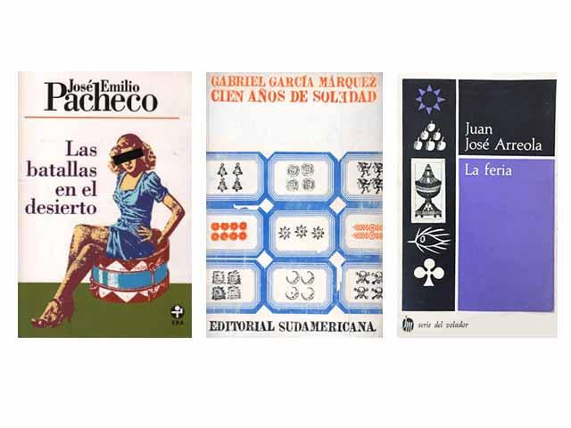 Rojo ha realizado a diseños de portadas de libros para autores como José Emilio Pacheco, Juan José Arreola y el Premio Nobel de Literatura Gabriel García Márquez.