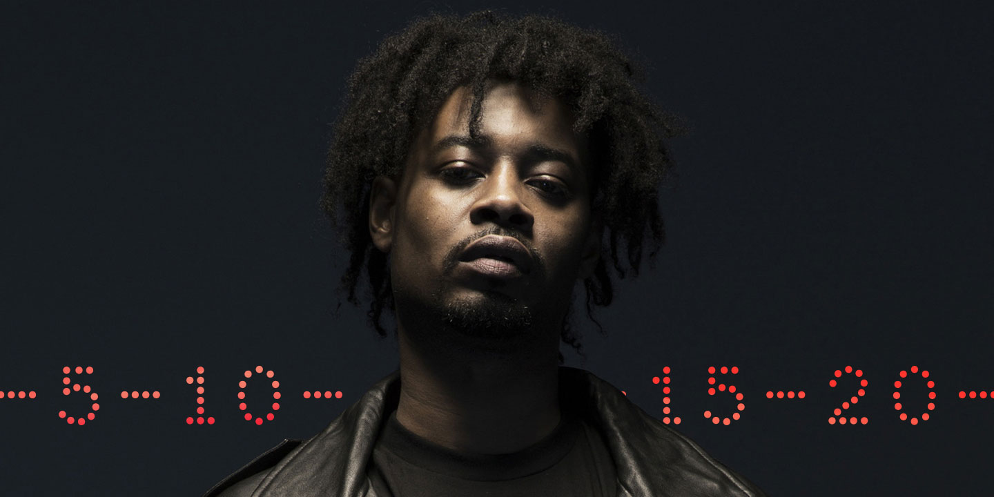Danny Brown, host of the new Grand Theft Auto V new's radio station
