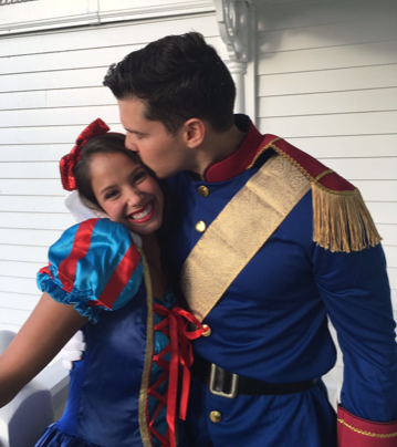 We love dressing up for Halloween! It makes us feel like kids again and gives us something to look forward to.