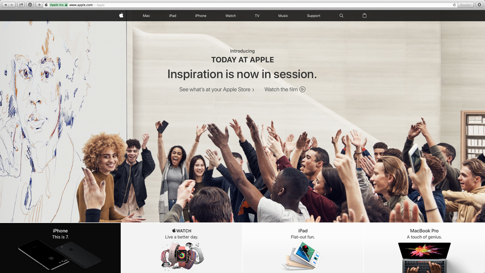 APPLE - Today at Apple - Global Campaign