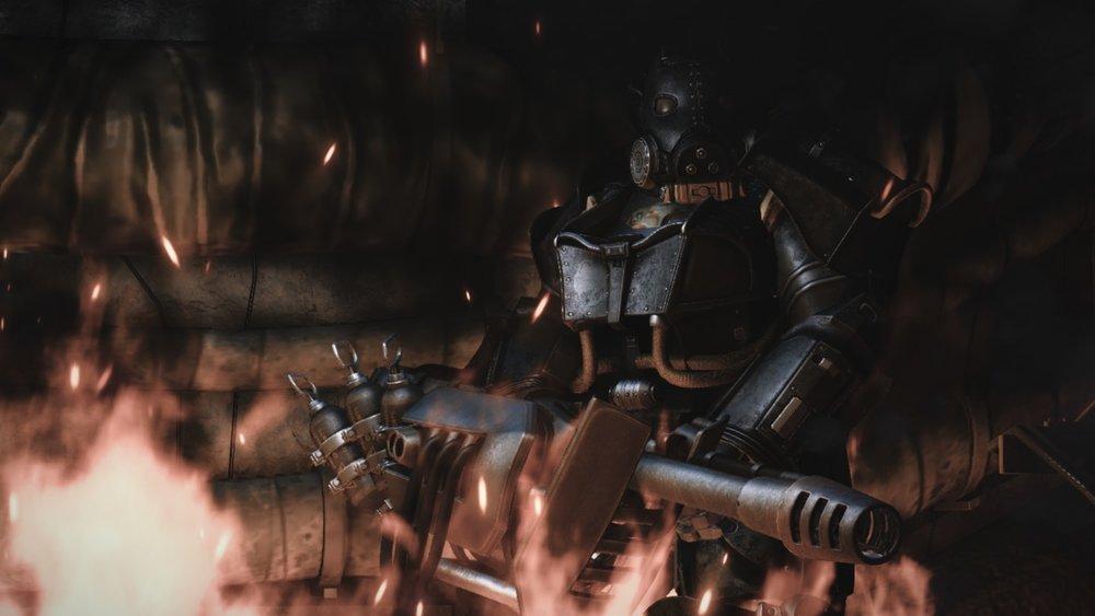 X-03 Enclave Hellfire Power Armor