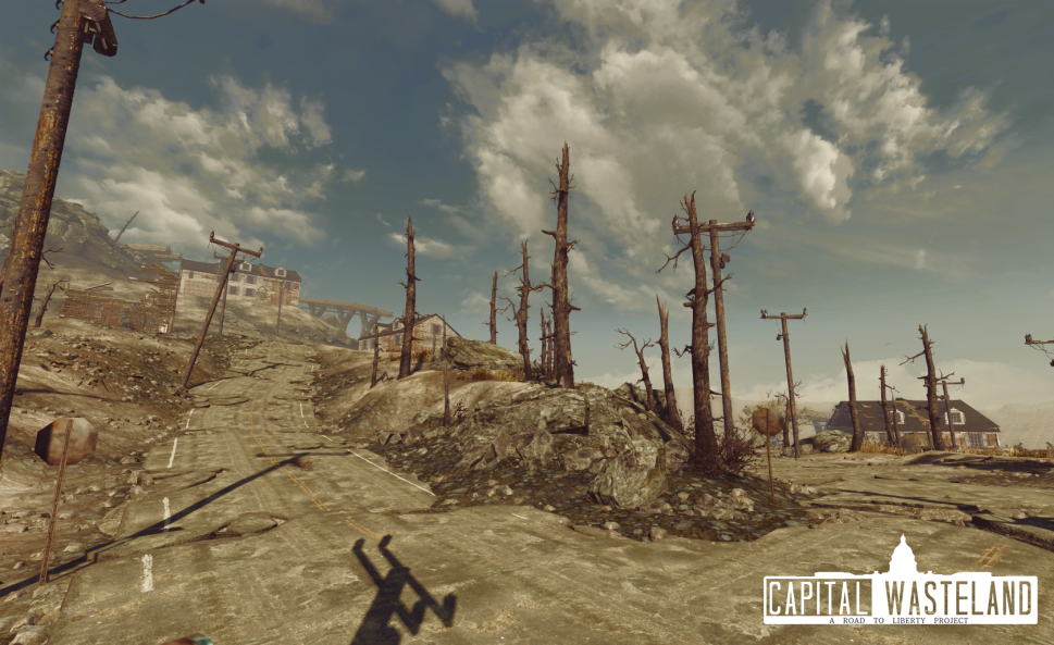 Surrounding Bethesda Ruins