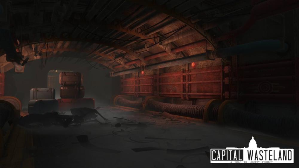 Vault 108 Hallways