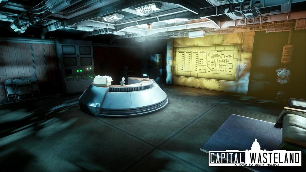 Vault 101 Overseer's Office