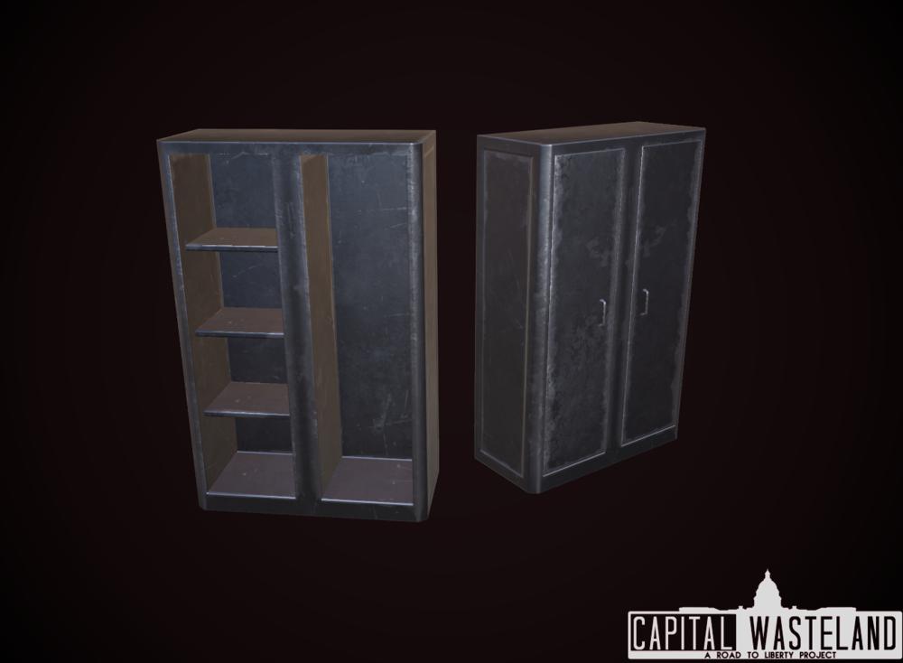 FO3 Gun Cabinet