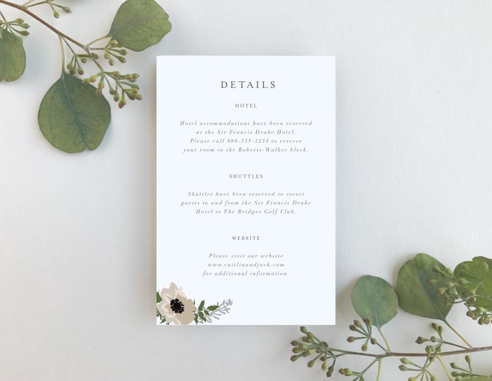 Details Card -