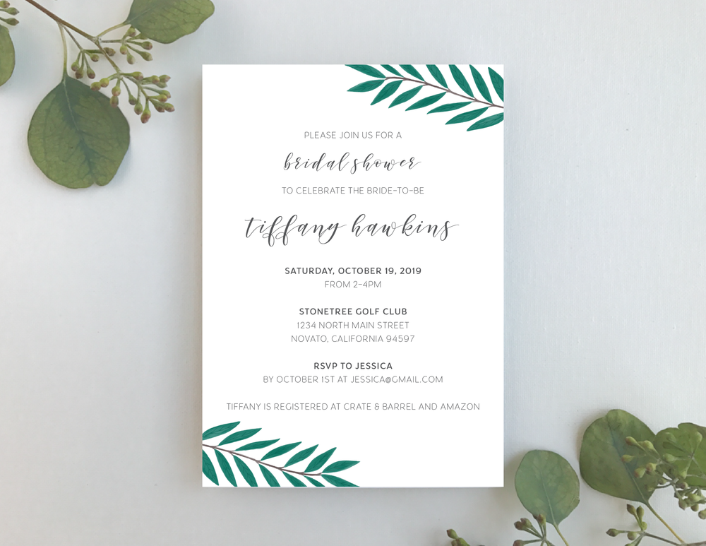 Teal Green Leaf Shower Invitation-01.png