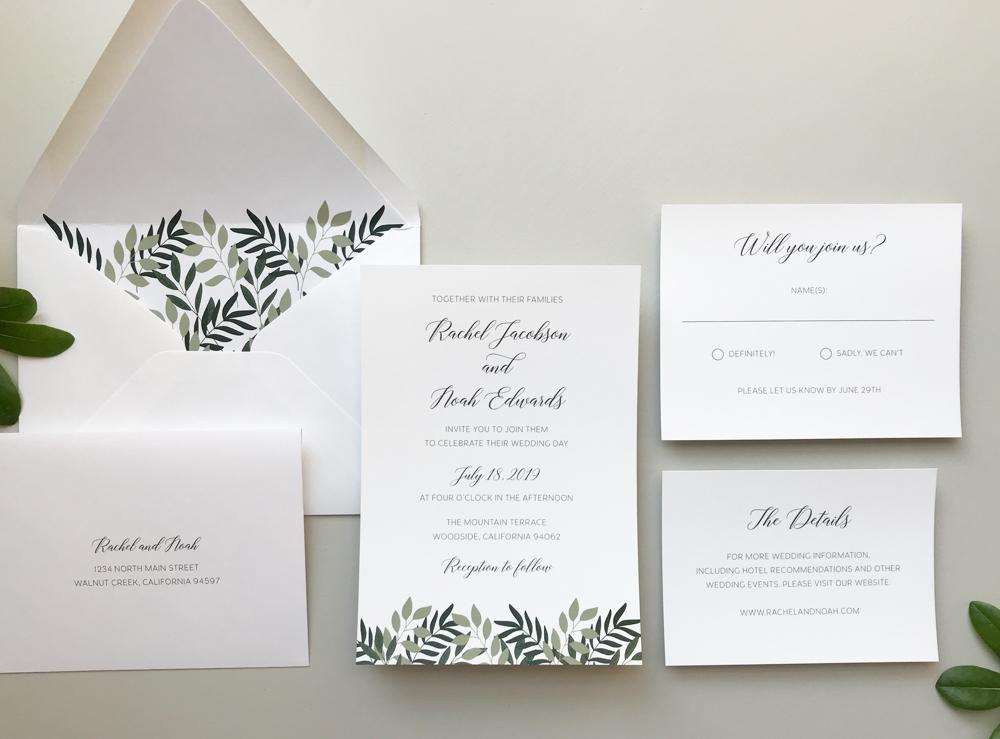 Botanical Garden Wedding Invitation Suite by Just Jurf.jpg