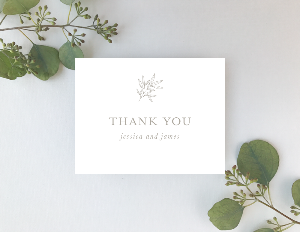 Romantic Taupe Thank You Cards by Just Jurf-01.png