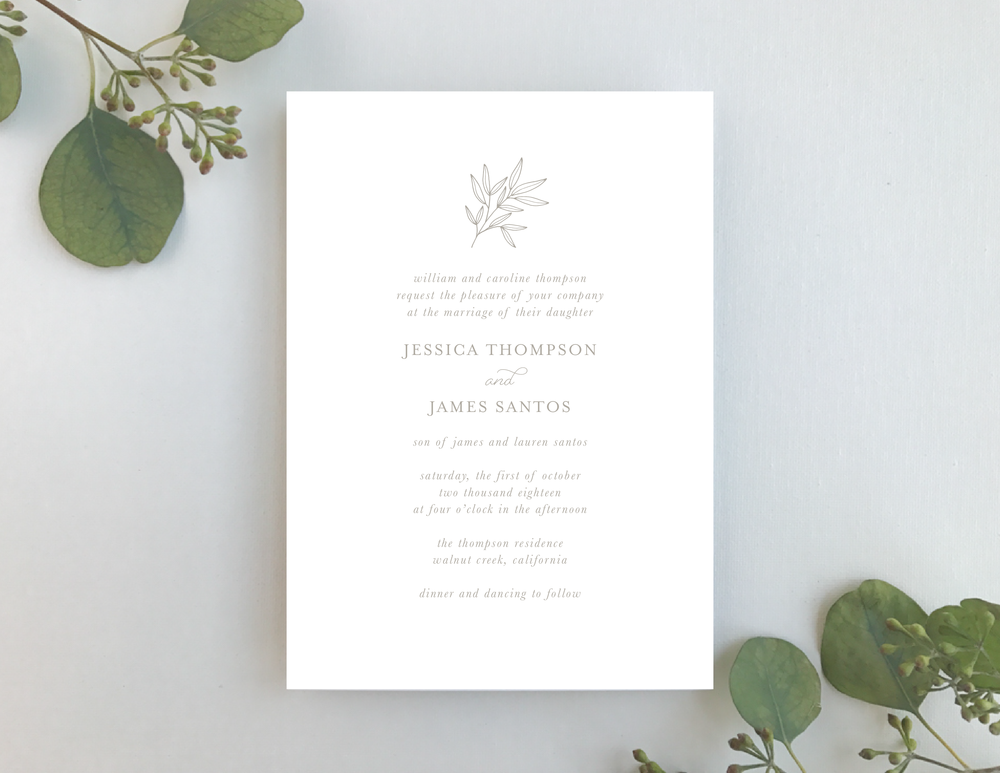 Romantic Taupe Wedding Invitation by Just Jurf-01.png