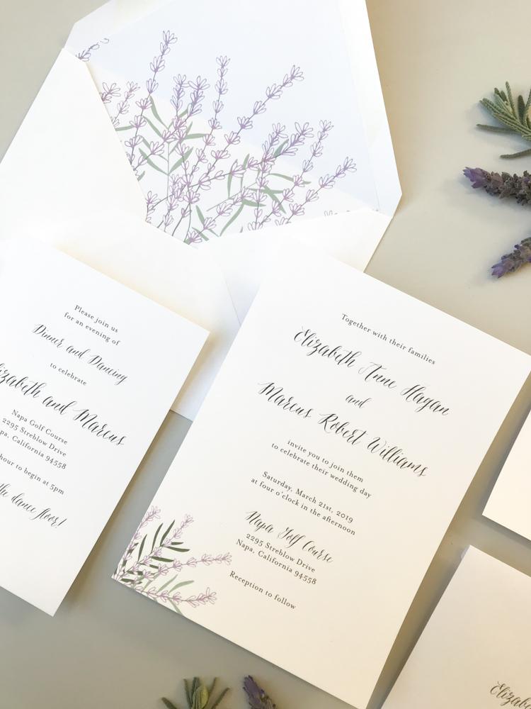 Lavender Floral Wedding Invitation Suite by Just Jurf-2.jpg