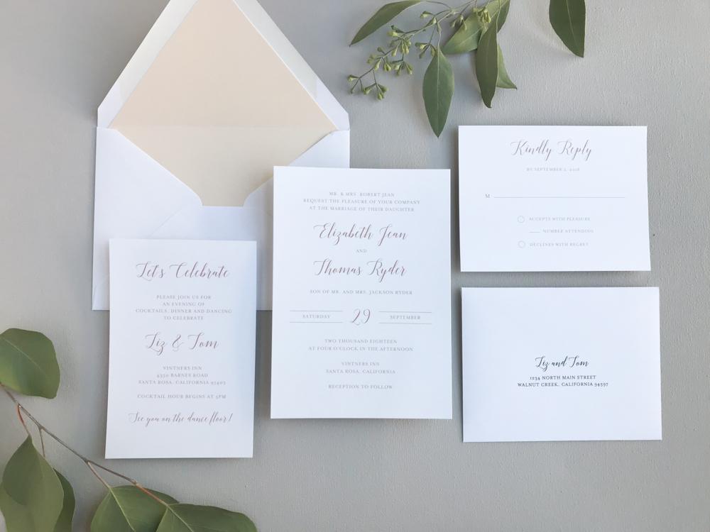 Mauve & Blush Wedding Invitation Suite by Just Jurf.jpg