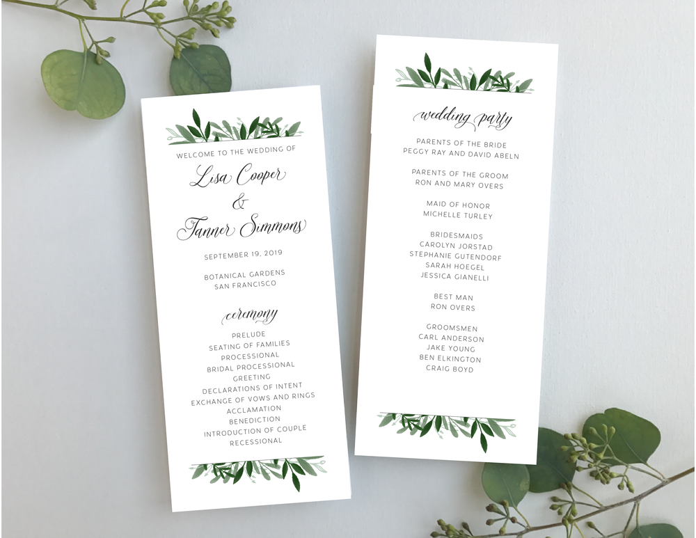 Elegant Greenery Programs by Just Jurf-01.png