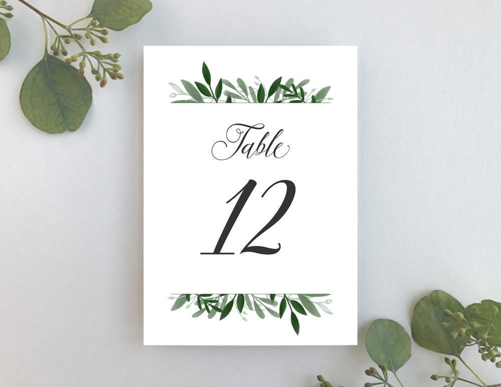 Elegant Greenery Table Numbers by Just Jurf-01.png