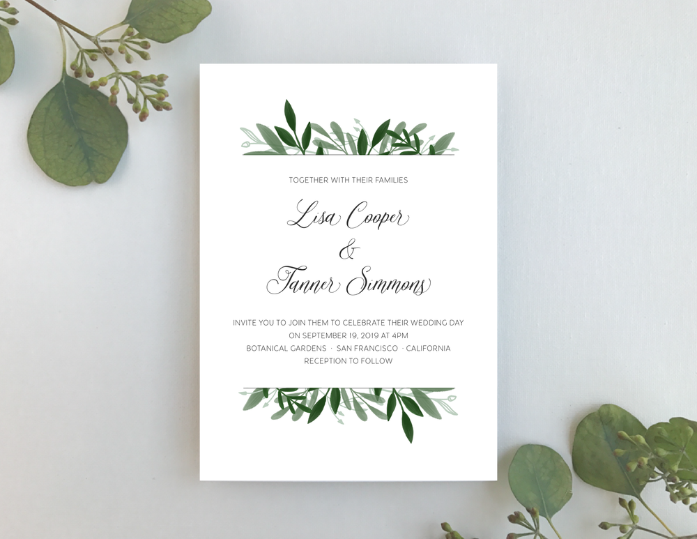 Elegant Greenery Wedding Invitation by Just Jurf-01.png