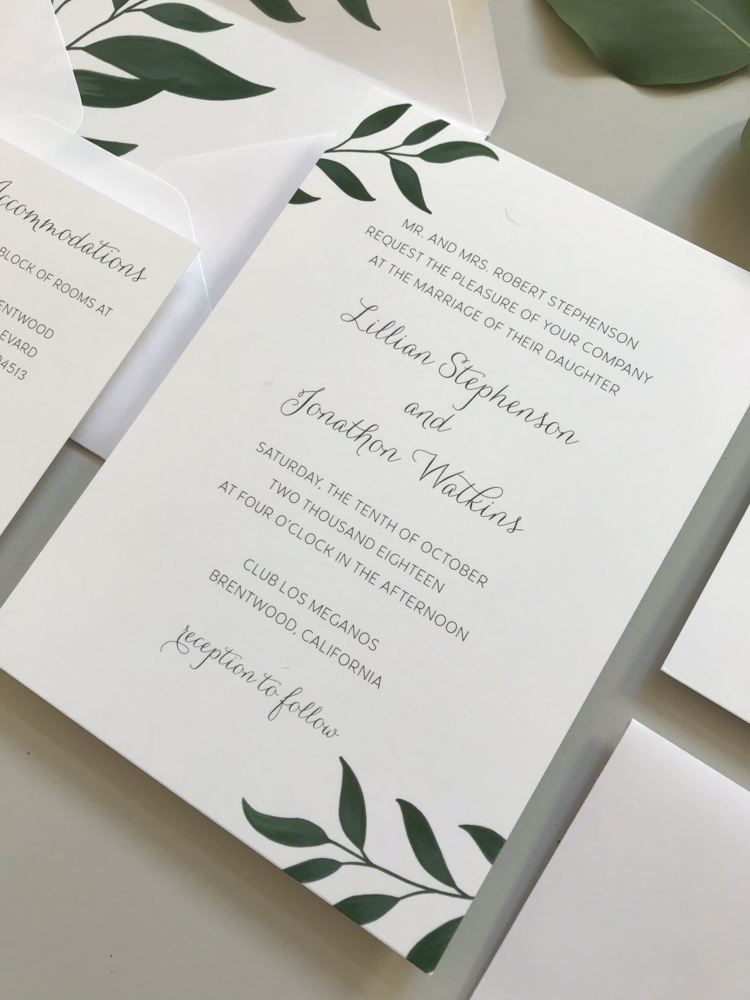 Botanical Leaf Wedding Invitation Suite-3.jpg