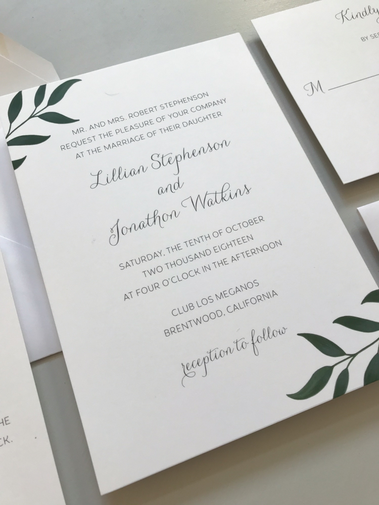 Botanical Leaf Wedding Invitation Suite-6.jpg