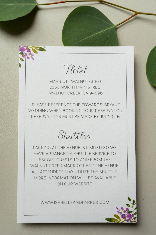 Purple Lavender Floral Wedding Invitation by Just Jurf - 5.jpg