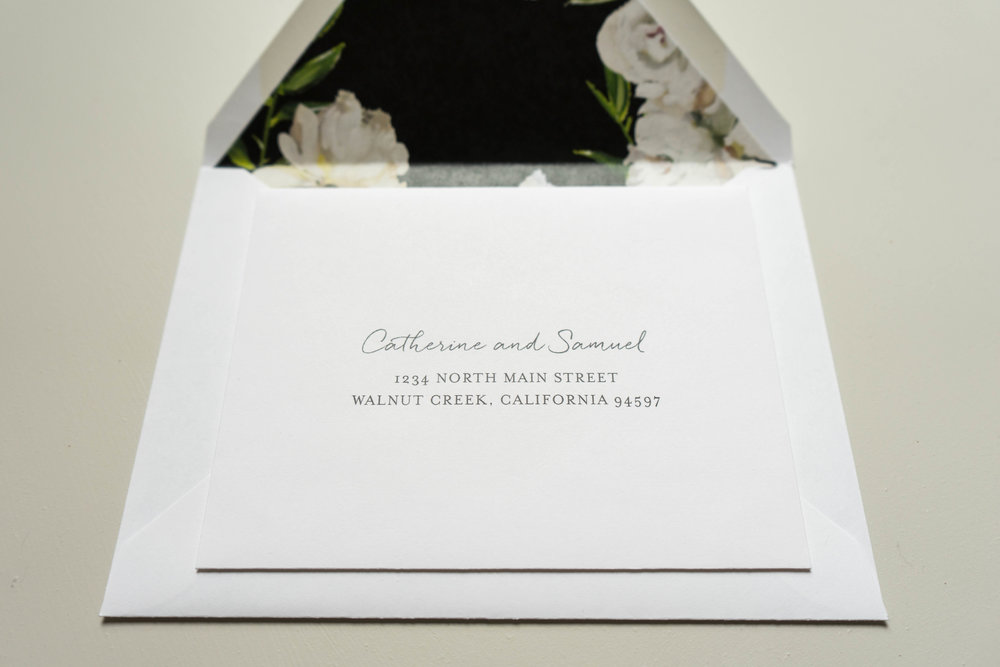 *Black and White Floral Wedding Invitation by Just Jurf-21.jpg